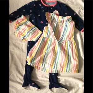 Carters romper and dress 18 months